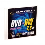 MINI DVD-RW ESPERANZA 2,8GB X2 - SLIM 1 SZT.
