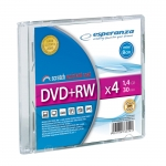 MINI DVD+RW ESPERANZA 1,4GB X4 - SLIM 1 SZT.
