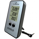 TITANUM WEATHER STATION WITH WIRED EXTERNAL SENSOR NIMBUS