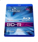 BD-R TITANUM 25GB X4 - BLU-RAY BOX 1 SZT.