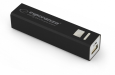 ESPERANZA POWER BANK ERG 2400mAh CZARNY