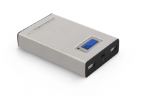 ESPERANZA POWER BANK KINETIC 8400mAh SREBRNY