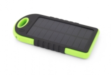 ESPERANZA SOLAR POWER BANK SUN 5200mAh CZARNO/ZIELONY