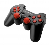 ESPERANZA GAMEPAD PS3/PC USB TROOPER CZARNO-CZERWONY