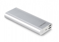 ESPERANZA POWER BANK 10000MAH PROTON SREBRNY