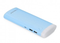 ESPERANZA POWER BANK 10000MAH FERMION NIEBIESKI