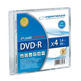 mini-dvd-r-esperanza-1-4gb-x4---slim-1-szt-